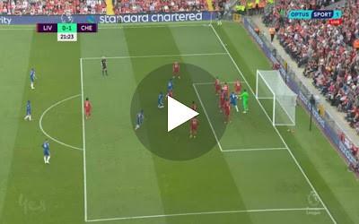 Video: GoooaL Rare Andy Robertson lapse sees Kai Havertz head Chelsea into lead against Liverpool
