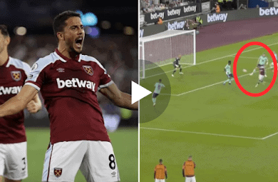 VIDEO: GOOAAALLL Pablo Fornals gives West Ham lead over Leicester City with brilliant finish from superb Said Benrahma assist