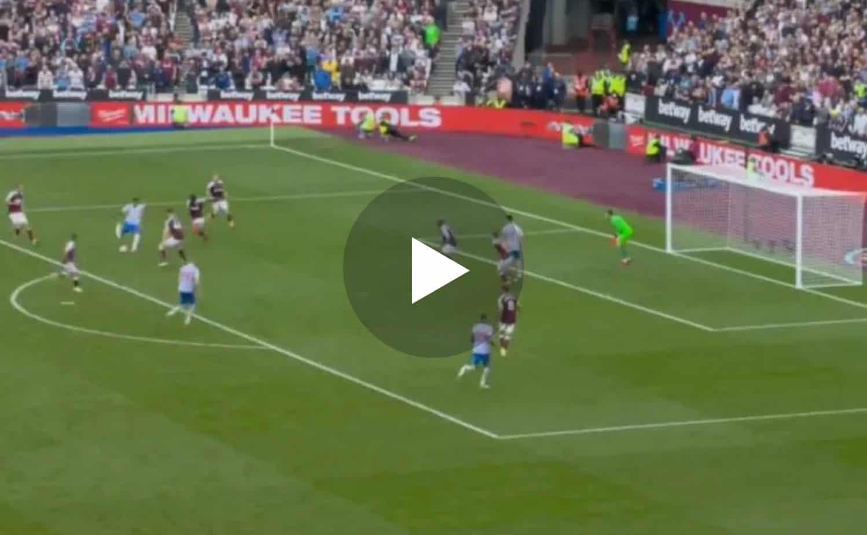 Video: GOOOAAAL Jesse Lingard stuns old club West Ham with late wonder-strike for Man United