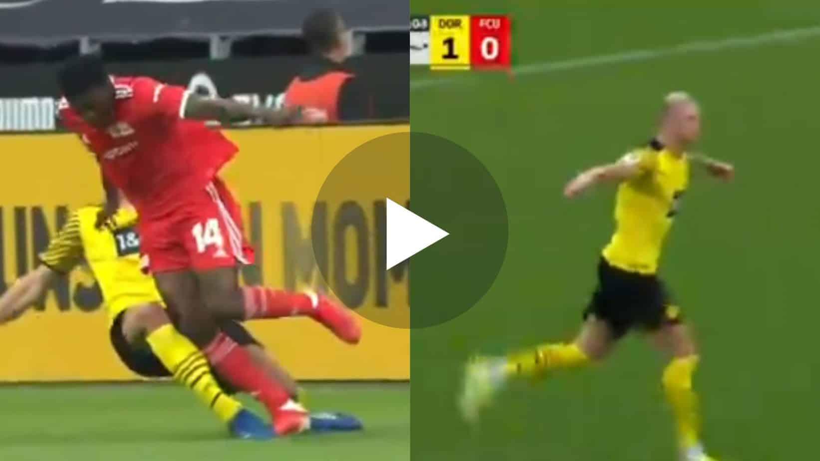 Video: GOOOAL Man Utd target Erling Haaland scores 12th goal in last 10 games